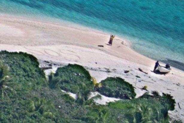 Lạc trên hoang đảo 7 ngày, thoát nhờ gửi tín hiệu thô sơ - 2