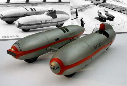 """""""Kinh hoàng"""" xe hơi kiểu ngư lôi có tốc độ gần 300 km/h - 2"""