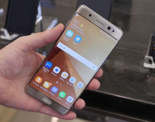 Số lô đặt hàng Galaxy Note 7 gấp đôi Galaxy Note 5 - 1