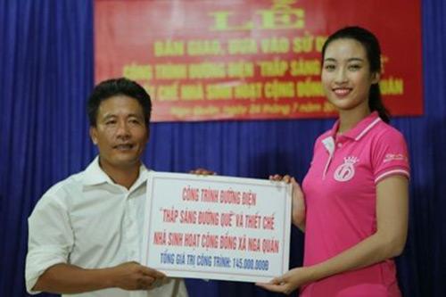 Chân dung tân hoa hậu Việt Nam Đỗ Mỹ Linh - 6
