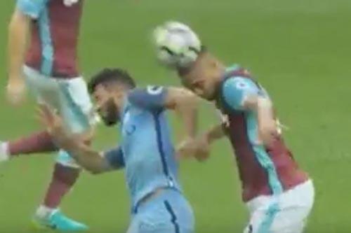 Aguero nguy cơ bị phạt 3 trận, lỡ derby Manchester - 1
