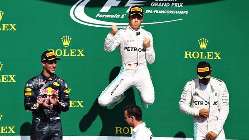 BXH Belgian GP: Rosberg xuất sắc, Hamilton quá đỉnh - 1