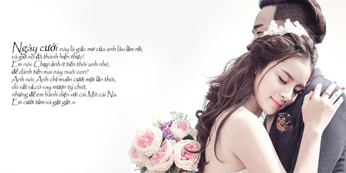 """Ảnh cưới """"chồng đồng nát-vợ hot girl"""" của Đỗ Duy Nam - 1"""