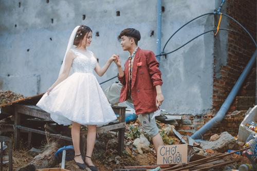 """Ảnh cưới """"chồng đồng nát-vợ hot girl"""" của Đỗ Duy Nam - 7"""