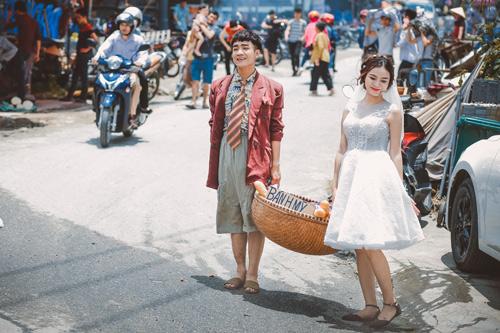"""Ảnh cưới """"chồng đồng nát-vợ hot girl"""" của Đỗ Duy Nam - 5"""