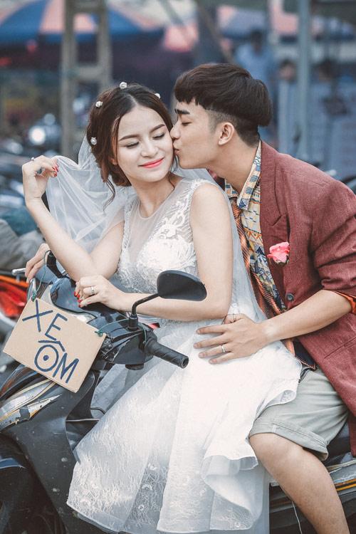 """Ảnh cưới """"chồng đồng nát-vợ hot girl"""" của Đỗ Duy Nam - 9"""