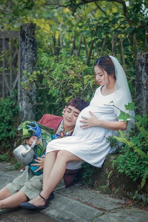 """Ảnh cưới """"chồng đồng nát-vợ hot girl"""" của Đỗ Duy Nam - 11"""