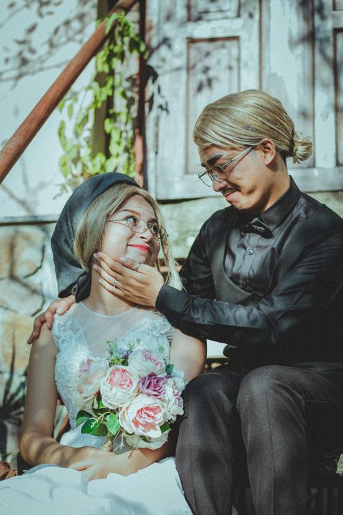 """Ảnh cưới """"chồng đồng nát-vợ hot girl"""" của Đỗ Duy Nam - 13"""