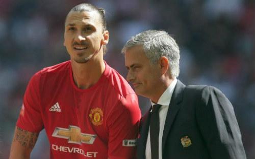 Mourinho ưu ái Ibra, vui vì Rashford bị loại tuyển Anh - 1