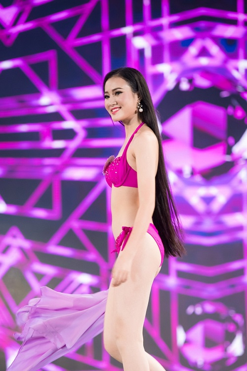 """Trọn bộ ảnh bikini """"nét căng"""" tại Chung kết Hoa hậu VN - 8"""