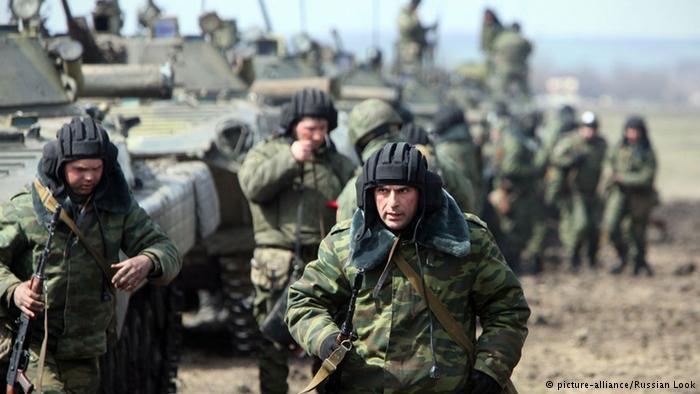 Hơn 40.000 quân Nga tập kết gần biên giới Ukraine - 1