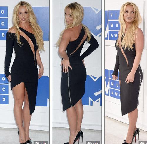 Beyonce nổi nhất thảm đỏ VMA với váy mỏng như sương - 6