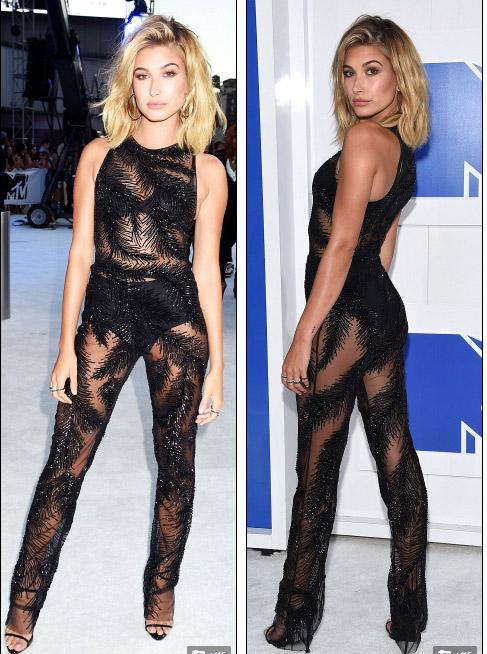 Beyonce nổi nhất thảm đỏ VMA với váy mỏng như sương - 9