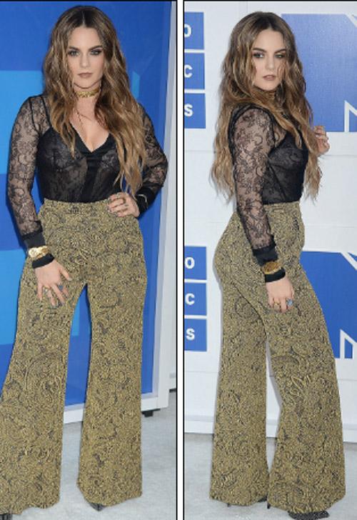 Beyonce nổi nhất thảm đỏ VMA với váy mỏng như sương - 21
