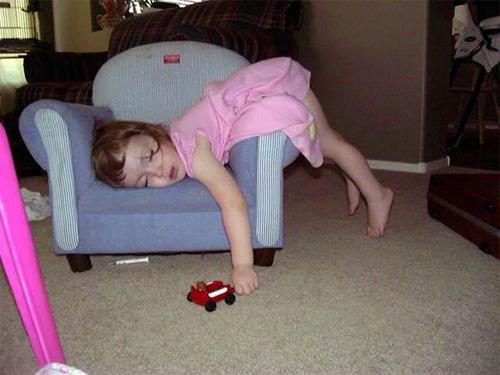 Giấc ngủ không quy củ vẫn siêu dễ thương của con trẻ - 5