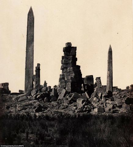 Loạt ảnh đầu tiên thế giới chụp Ai Cập cách đây 170 năm - 4
