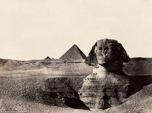 Loạt ảnh đầu tiên thế giới chụp Ai Cập cách đây 170 năm - 1