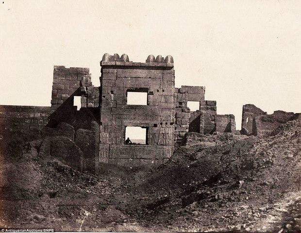 Loạt ảnh đầu tiên thế giới chụp Ai Cập cách đây 170 năm - 3
