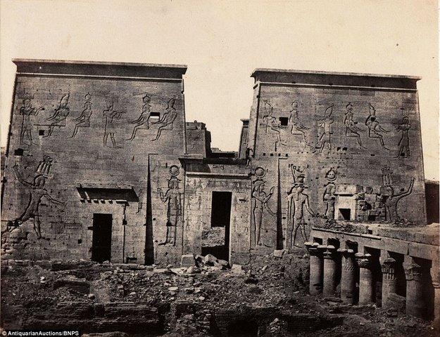 Loạt ảnh đầu tiên thế giới chụp Ai Cập cách đây 170 năm - 8