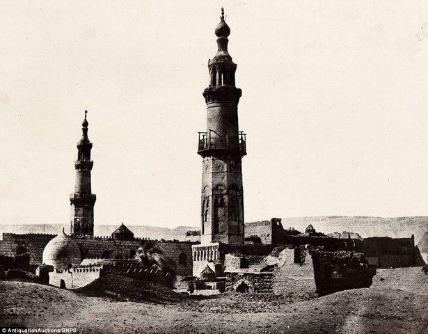 Loạt ảnh đầu tiên thế giới chụp Ai Cập cách đây 170 năm - 5