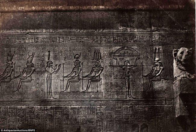 Loạt ảnh đầu tiên thế giới chụp Ai Cập cách đây 170 năm - 7