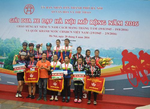 GIANT Việt Nam tài trợ giải đua xe đạp mở rộng 2016 - 7
