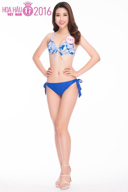 Ngây ngất với ảnh bikini sexy của tân hoa hậu Việt Nam - 1