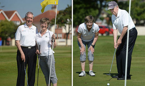 """Kinh ngạc: Golfer mù & cú """"hole in one"""" sau 3 thập kỷ - 2"""