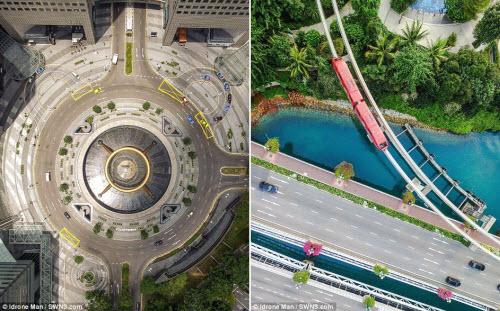 Ngắm vẻ đẹp khác lạ của Singapore từ trên cao - 4