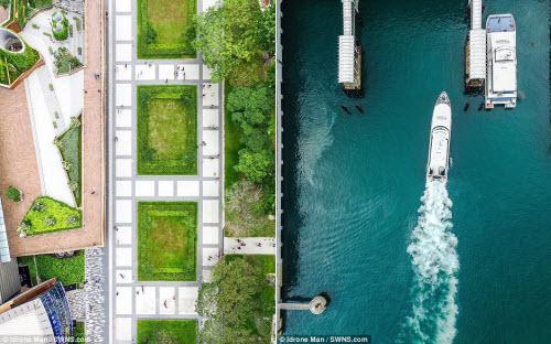 Ngắm vẻ đẹp khác lạ của Singapore từ trên cao - 5