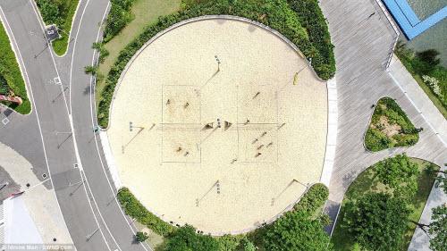 Ngắm vẻ đẹp khác lạ của Singapore từ trên cao - 7