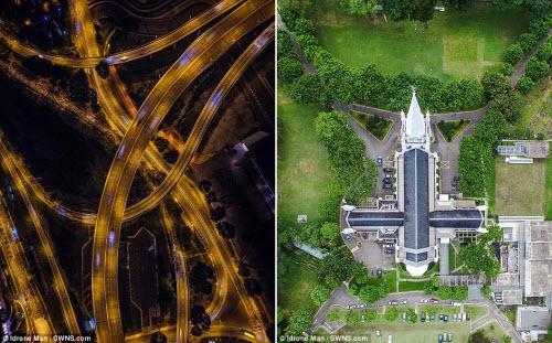 Ngắm vẻ đẹp khác lạ của Singapore từ trên cao - 8