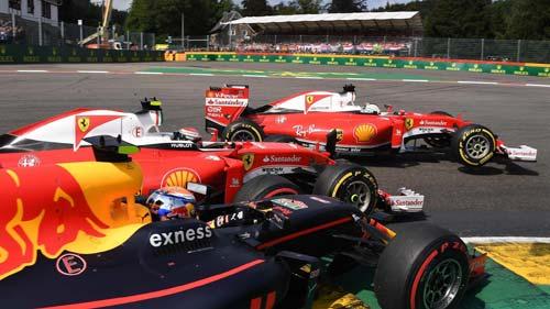 """F1, Belgian GP: Buổi chiều """"điên cuồng"""" tại Spa - 1"""