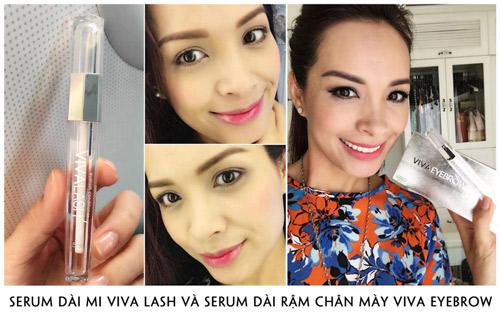 Viva Lash + Viva Eyebrow - 'cơn lốc' làm đẹp cuốn bay cả giới showbiz - 2