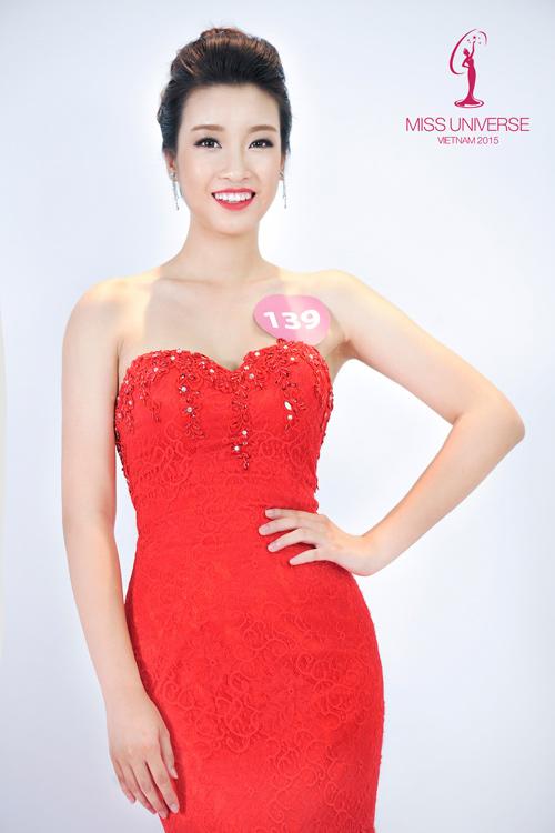 Lục ảnh gợi cảm của Mỹ Linh khi thi Hoa hậu Hoàn vũ - 5