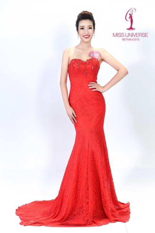 Lục ảnh gợi cảm của Mỹ Linh khi thi Hoa hậu Hoàn vũ - 6