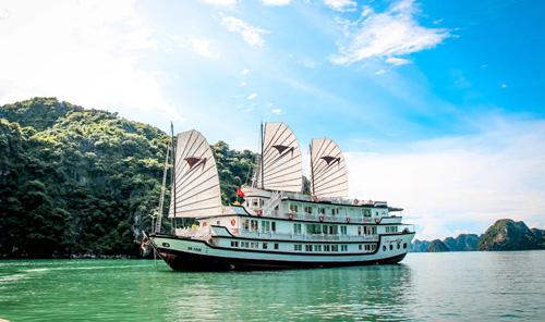 Top 5 du thuyền đẳng cấp 5 sao tại Hạ Long - 1
