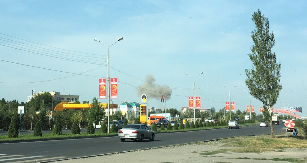 Khủng bố đánh bom đại sứ quán Trung Quốc ở Kyrgyzstan - 1