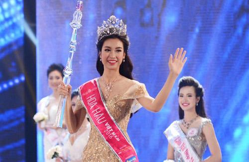 Soi nhan sắc tân Hoa hậu Việt Nam 2016 Đỗ Mỹ Linh - 1