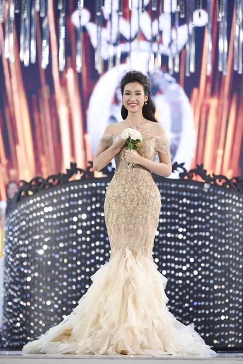 Soi nhan sắc tân Hoa hậu Việt Nam 2016 Đỗ Mỹ Linh - 2