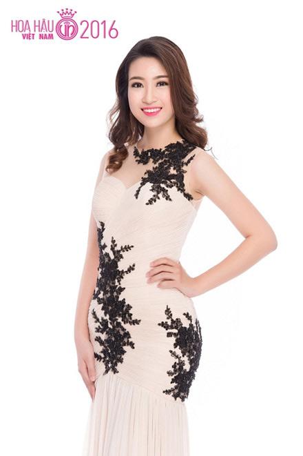 Soi nhan sắc tân Hoa hậu Việt Nam 2016 Đỗ Mỹ Linh - 5
