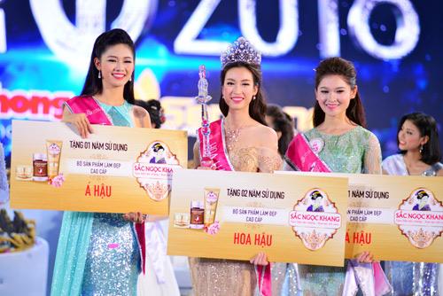 Soi nhan sắc tân Hoa hậu Việt Nam 2016 Đỗ Mỹ Linh - 7