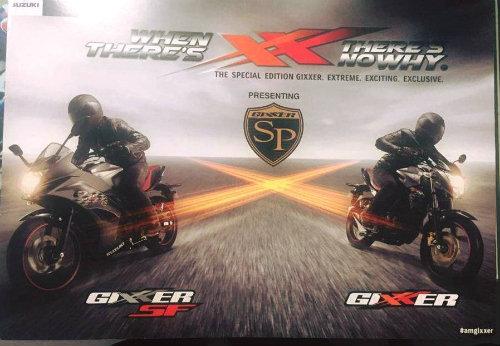 Suzuki Gixxer SP bản đặc biệt lộ diện, dọa nạt Yamaha FZ - 1