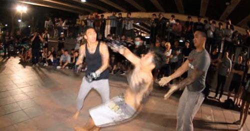"""Võ """"phủi"""" Thái Lan: Vỡ mặt, gãy răng vẫn quyết chiến - 2"""