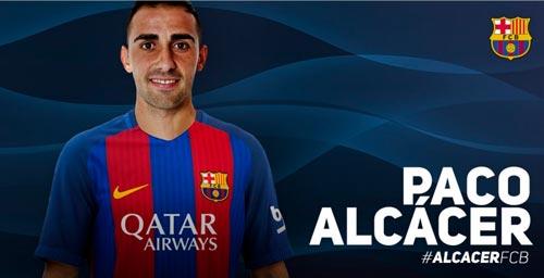 CHÍNH THỨC: Barca có Paco Alcacer giá 30 triệu Euro - 1