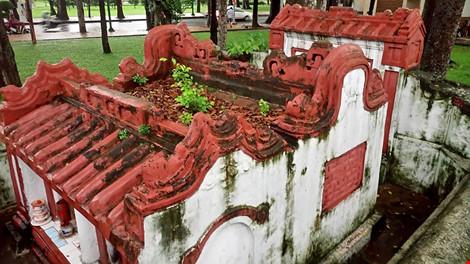 Kỳ bí khu mộ cổ hơn trăm năm trong công viên Tao Đàn - 9