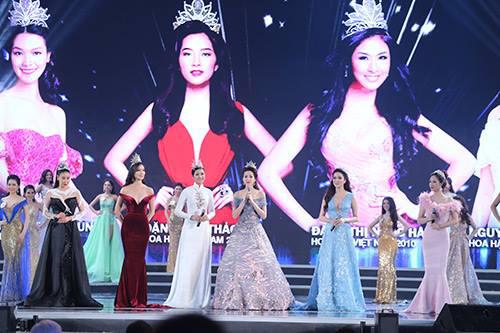 """Váy sexy đến """"nín thở"""" của Thùy Dung ở chung kết HHVN - 11"""