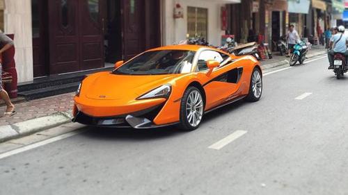 """McLaren 570S cực """"độc"""" bất ngờ xuất hiện trên phố Hà Nội - 1"""