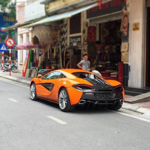 """McLaren 570S cực """"độc"""" bất ngờ xuất hiện trên phố Hà Nội - 3"""