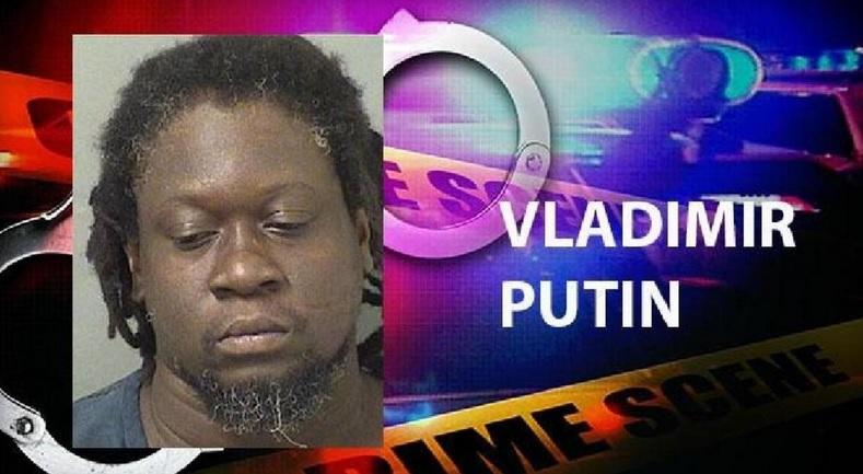 Người có tên Vladimir Putin bị bắt ở Mỹ - 1